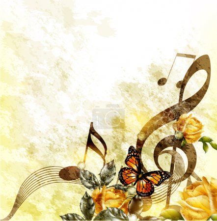 Illustration for Music background - Royalty Free Image