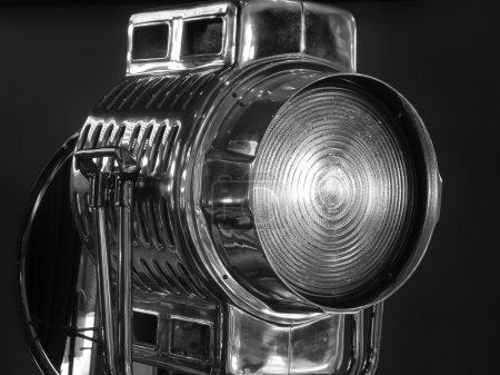 Retro Hollywood style movie light