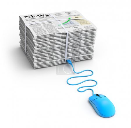 Web news concept