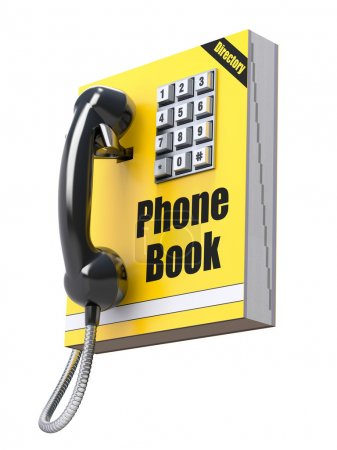Phone book concept