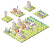 Vector isometric map of the generic nuclear power plant