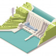 Vector isometric map of the generic hydroelectric ...