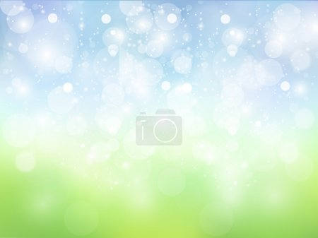 Leaf sky background soap bubble