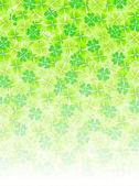 Four Leaf Clover leaf background
