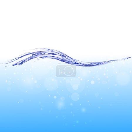 Liquid water background