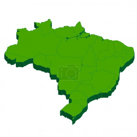 Brazil Map country