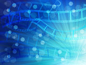 Film negatives landscape