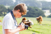 Teenager and his Camera