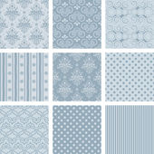 Seamless background Collection vector Illustration