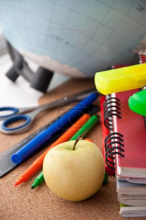School supplies. Writing utensils.