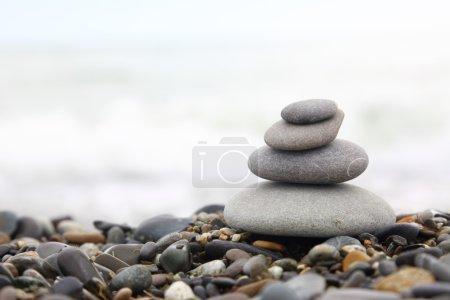 Pebble Seashore