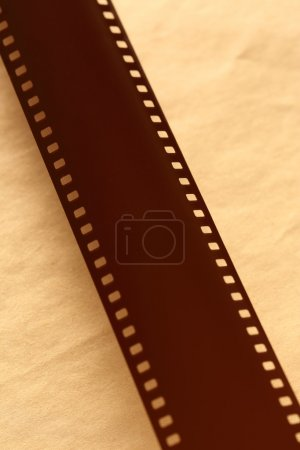 Photo for Blank light sensitive film on paper - Royalty Free Image