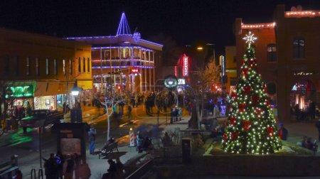 An Historic Downtown Flagstaff, Arizona, New Year's Eve
