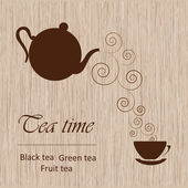 Tea time template