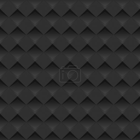 Modern black background - seamless / can be used for graphic or