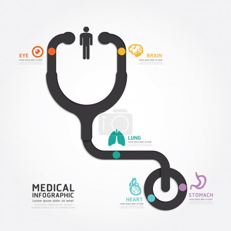 Infographics medical design