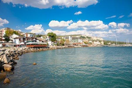 The town of Balchik in Bulgaria.