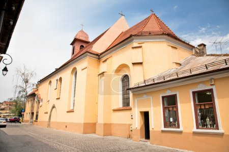 Photo for Franciscan Monastery Sf.Ioan from 15. century in Brasov, Romania - Royalty Free Image