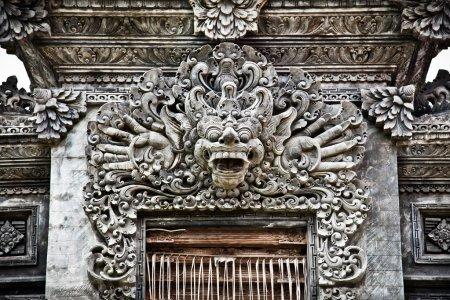 Stone sculpture in Nusa Dua, Bali.