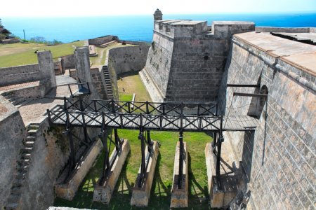 san Château pedro de la roca del morro, près de santiago de cuba