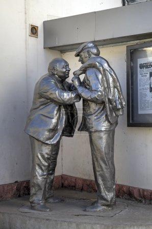 "Monument to Russian film ""Afonya"". Yaroslavl, Russia"