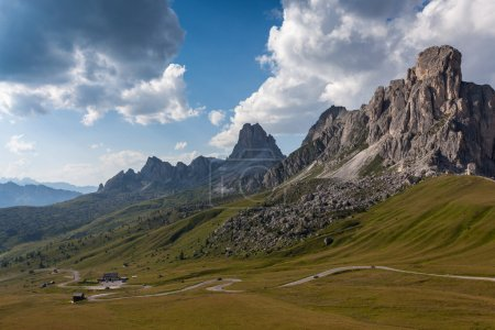 Photo for A winding mountain road - Dolomites - Royalty Free Image