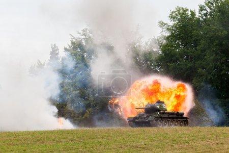 Photo for II World War - Tank - Royalty Free Image
