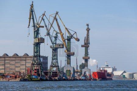 Shipyard in Gdansk - View Industrial