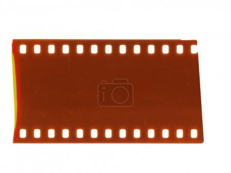 Photo for Piece of blank grained film strip texture - Royalty Free Image