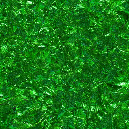 Photo for Christmas tinsel background, closeup - Royalty Free Image
