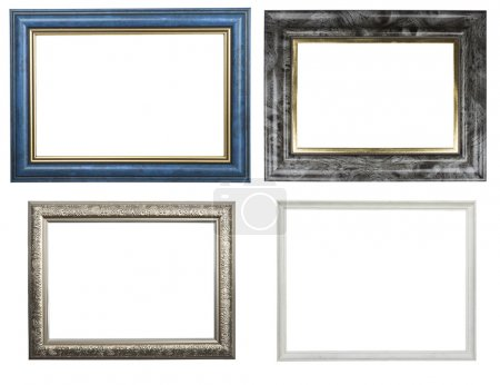 Classic wooden frames