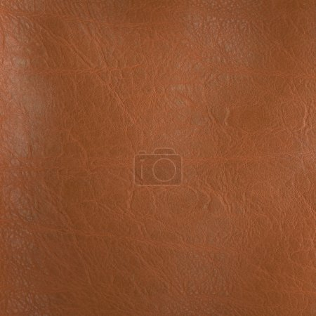 Photo for Brown leather texture, can be used as background - Royalty Free Image