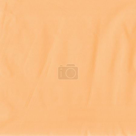 Photo for Crumpled orange material background - Royalty Free Image
