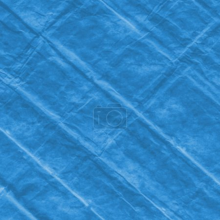 Photo for Blue material  texture as background - Royalty Free Image