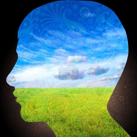 Photo pour Pensées naturelles - image libre de droit