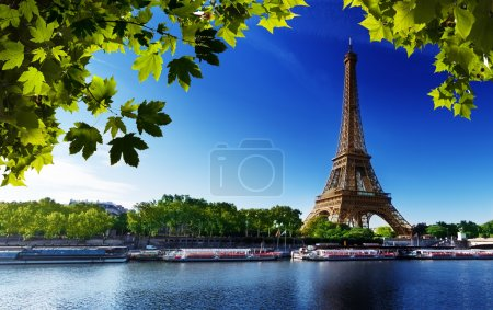 Eifel Tower background in Paris, ideal for any use...