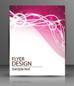 Vektorové flyer design - podnikání