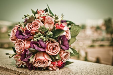 Photo for Wedding Flowers - Royalty Free Image