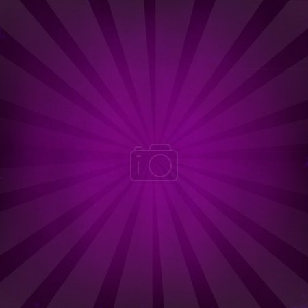 Illustration for Purple Grunge Background Texture With Sunburst With Gradient Mesh, Vector Illustration - Royalty Free Image