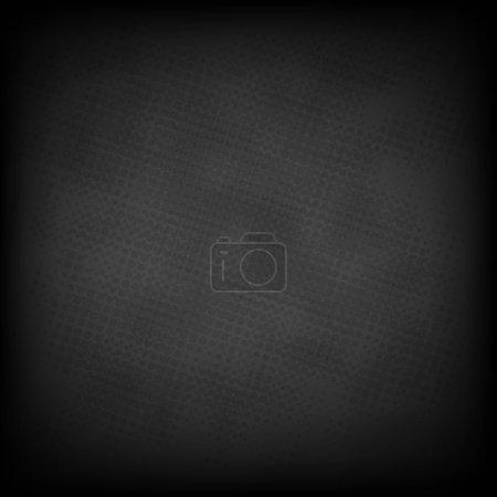 Illustration for Black Grunge Background, With Gradient Mesh, Vector Illustration - Royalty Free Image