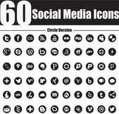 This is a nice simple and elegant set of social media icons suitable for your graphic and web projects They are fully resizable and editable
