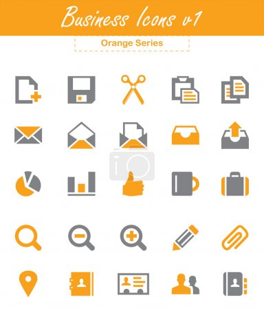 Photo for This is a cool, simple and very high quality set of vector business icons for web and mobile design projects. Suitable for several purposes like websites, illustrations, print templates, presentation templates. Full re sizable and editable. - Royalty Free Image