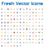 Fresh Vector Icons (simple version)
