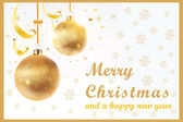 This is a simple clean and elegant Christmas card suitable for the festive season All images used are totally free and are included on the main file