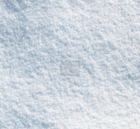 Photo pour Neige texture pour le fond - image libre de droit
