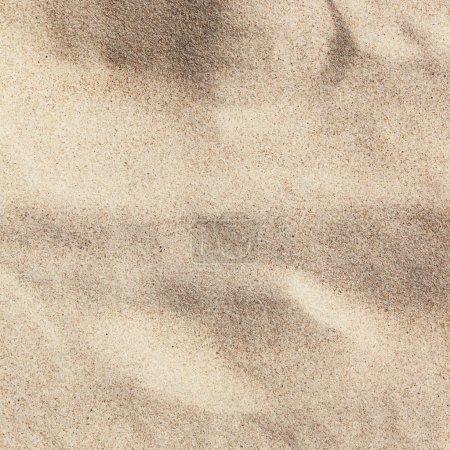 Sandy beach surface...