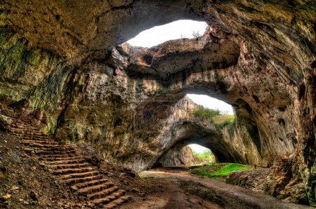 Cave near village Devetaki in Bulgaria