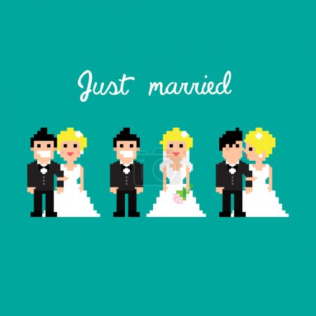 PixelArt wedding