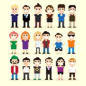 Pixel Art People