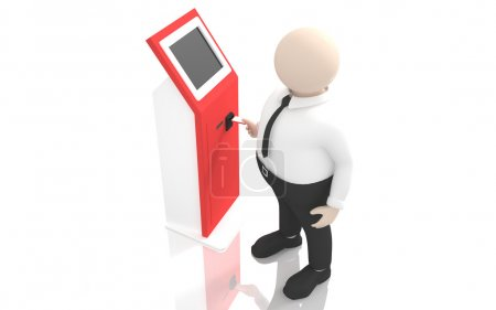 Office scenes (payment terminal)